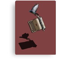 Carrier Pigeon Canvas Print