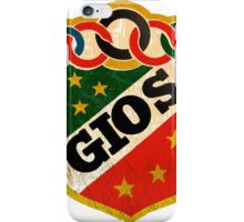 Gios Vintage Italian Racing bicycles iPhone Case/Skin