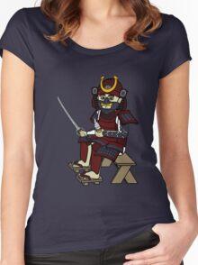 Small Samurai Women's Fitted Scoop T-Shirt