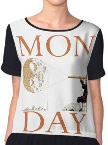 MON(moon)DAY Chiffon Top