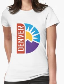 Denver Three Womens Fitted T-Shirt