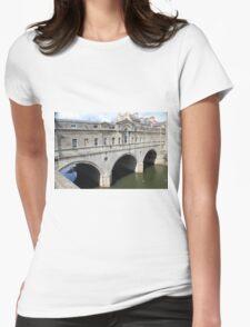 bridge Womens Fitted T-Shirt