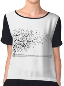 The Sound of Nature Women's Chiffon Top