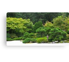 one hand clapping Canvas Print