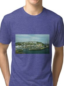 Mevagissy Harbour  Tri-blend T-Shirt
