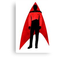 Star Trek - Silhouette Picard Canvas Print