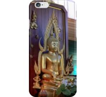 Buddha at the Thai Temple in Canberra/ACT/Australia iPhone Case/Skin