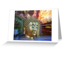 Transcending Life (Thai Temple in Canberra/ACT/Australia) Greeting Card