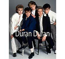 Vintage Duran Duran 2 Photographic Print