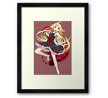 Shinobu black Dress No. 1 Framed Print