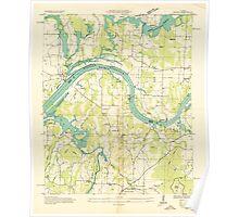 USGS TOPO Map Alabama AL Triana 305232 1936 24000 Poster