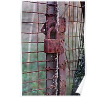 Rusted Lock Poster