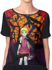 Kizumonogatari Movie Cover Chiffon Top