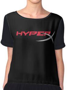 HyperX Logo Chiffon Top