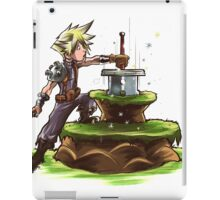 The Buster Sword in the Stone iPad Case/Skin