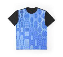 Martian Energies Pattern (blue) Graphic T-Shirt
