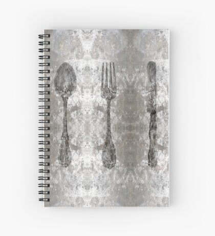 CUTLERY Spiral Notebook
