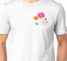 wild summer flowers Unisex T-Shirt