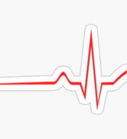 Heart Monitor Sticker