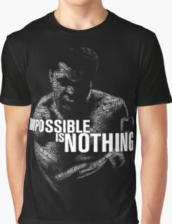 """""""Impossible is Nothing"""" - Muhammad Ali Graphic T-Shirt"""