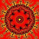 Persian Carpet Mandelbrot by Rupert Russell