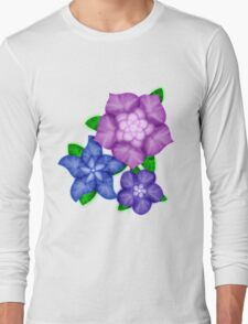 Purple blossoms Long Sleeve T-Shirt