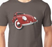 VW Beetle type 1 red Unisex T-Shirt