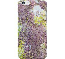 Falling Purple Wisteria iPhone Case/Skin