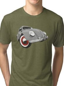 VW Beetle type 1 grey Tri-blend T-Shirt