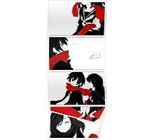 Ayano x Shintarou Story Stripe No.1 Poster