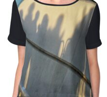 Guarding the Shadows Chiffon Top
