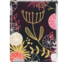 Retro floral Exclusive pattern background iPad Case/Skin