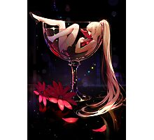 Girl in Glass Photographic Print