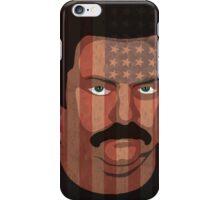 Ron Swanson - 'Murca iPhone Case/Skin