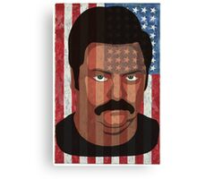 Ron Swanson - 'Murca Canvas Print