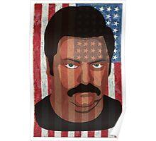 Ron Swanson - 'Murca Poster