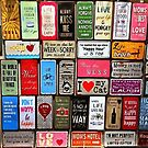 Signs Of The Time Inspirational Mosaic by taiche