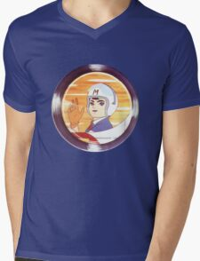 speed racer Mens V-Neck T-Shirt