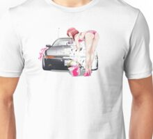 Maki in Bikini wash Car Unisex T-Shirt