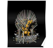 Gililimus : This is my kingdom! Poster