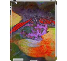 Guess who is coming to a late dinner? iPad Case/Skin