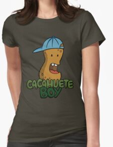 Cacahuete Boy Womens Fitted T-Shirt