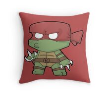 Chibi Raph Throw Pillow