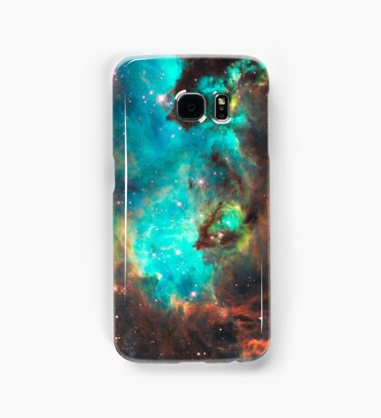 Green Galaxy Samsung Galaxy Case/Skin
