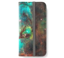 Green Galaxy iPhone Wallet/Case/Skin