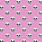 Undertale Sans Pattern - Pastel Pink by sophjade