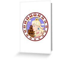 The Princess of Mushroom Kingdom Greeting Card