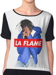 Travi$ Scott - La Flame (Colour) Chiffon Top