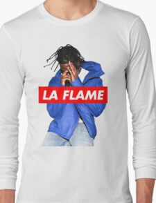 Travi$ Scott - La Flame (Colour) Long Sleeve T-Shirt