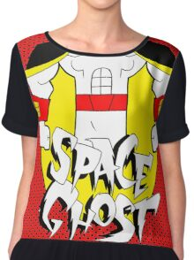 space ghost Chiffon Top